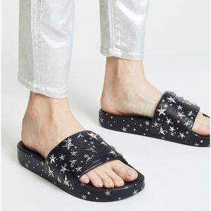 New Tory Burch Star Slides Sandal